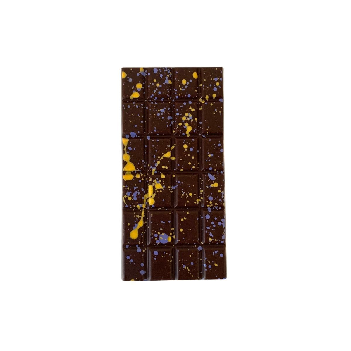 Candied Lemon Ginger & Fennel Vegan Dark Chocolate Bar