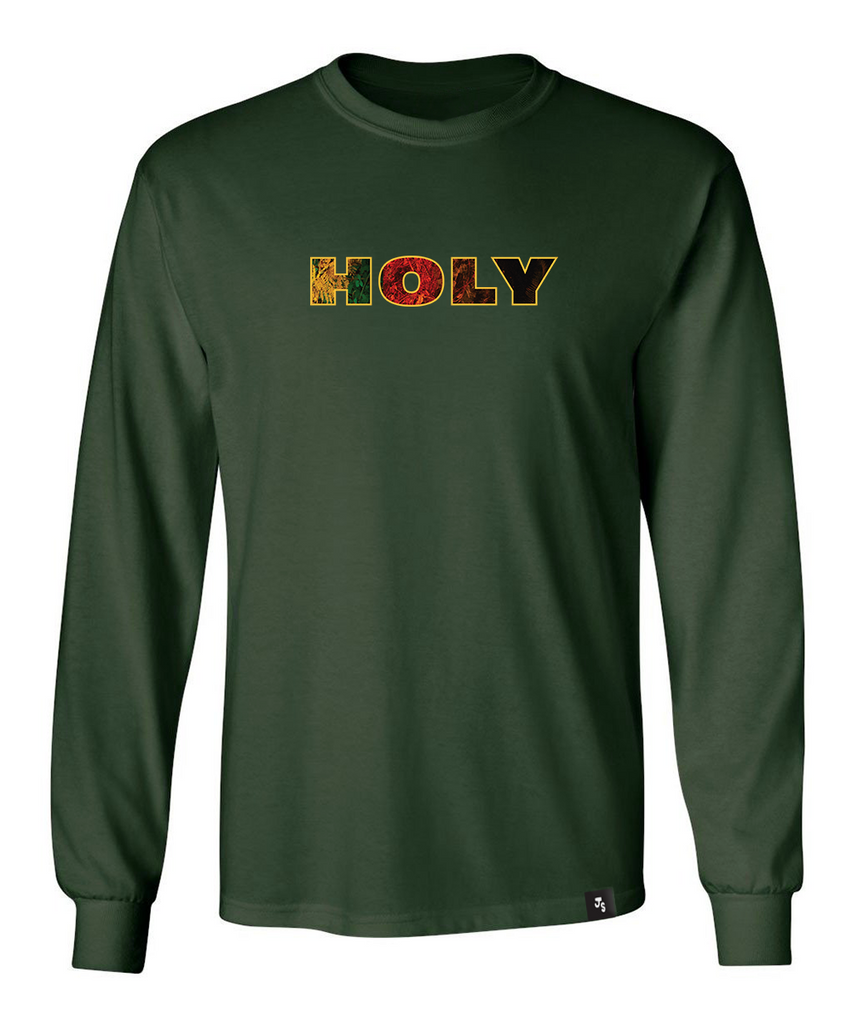 Sweet Holy Honey Long Sleeve - Forest Green