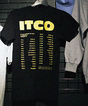 Throwback ITCO Tour Tee (2017) - Black