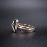 Classic Art Deco Platinum, 18K & 14K Onyx & Diamond Ring