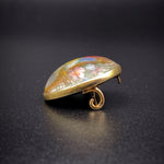 Victorian Essex Crystal Brooch 18k Gold