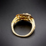 Antique Art Nouveau 14K Conversion Ring