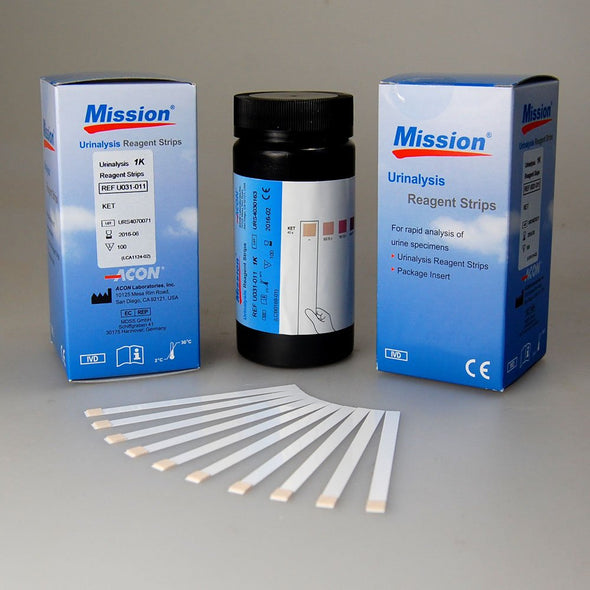 Mission Ketone Test Strips