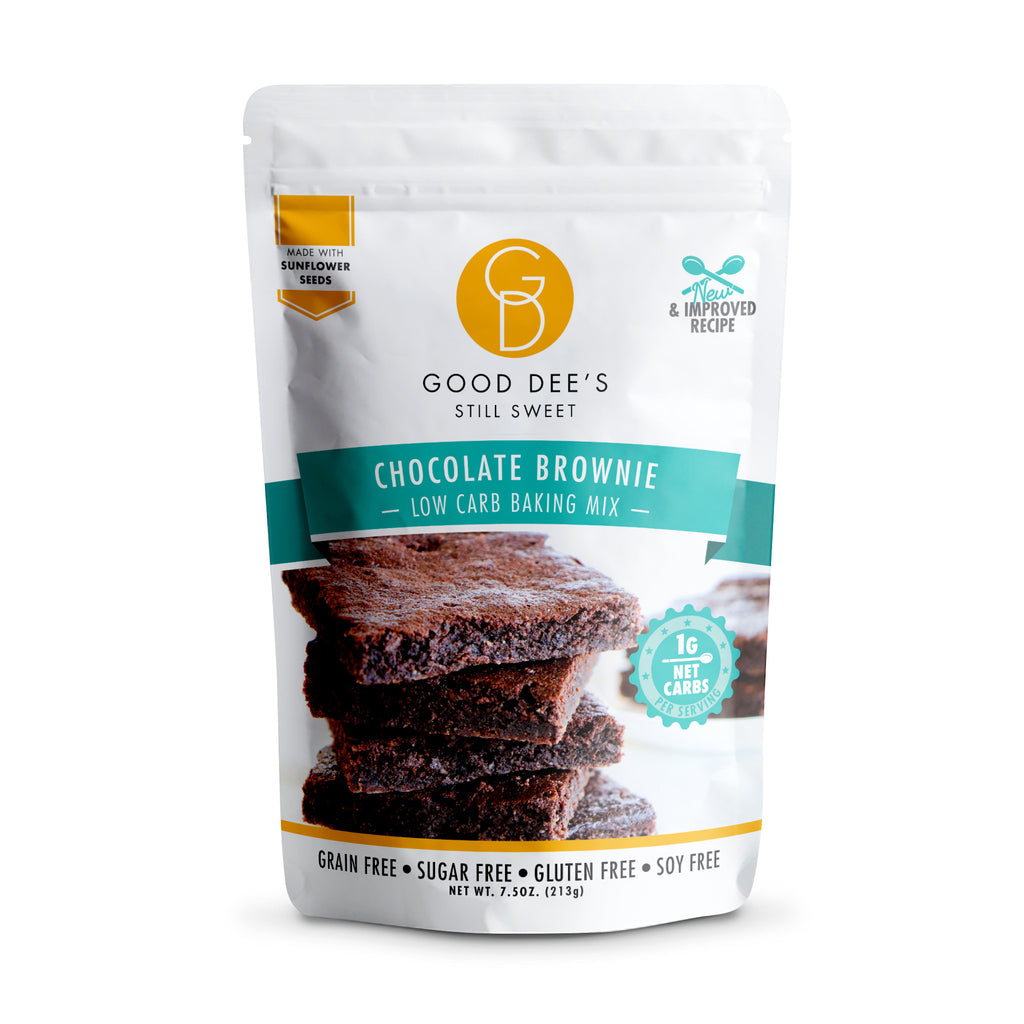 Good Dee's Keto Chocolate Brownie Mix, 213g