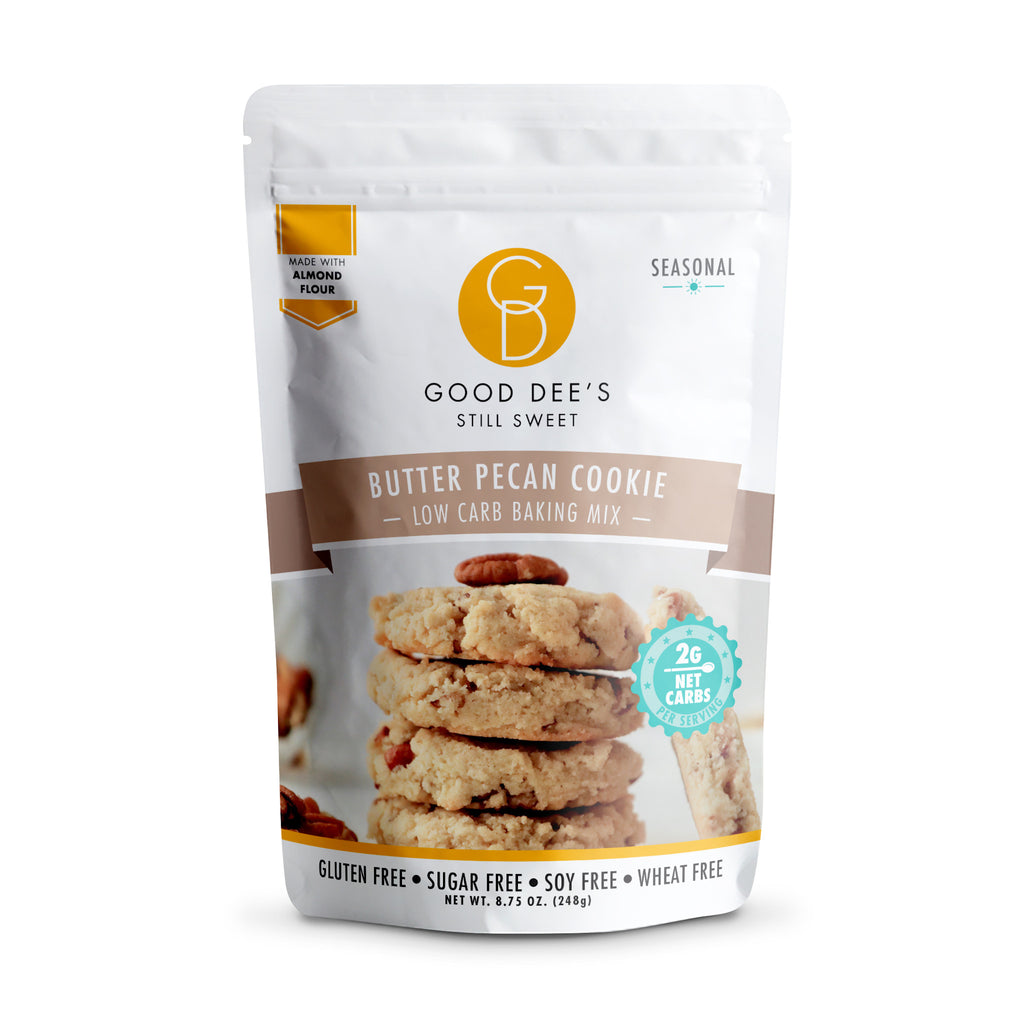 Good Dee's Keto Butter Pecan Cookie Mix, 248g