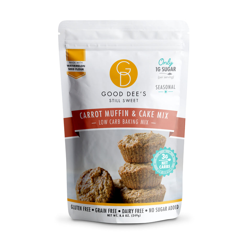 Good Dee's Keto Carrot Muffin & Cake Mix, 249g