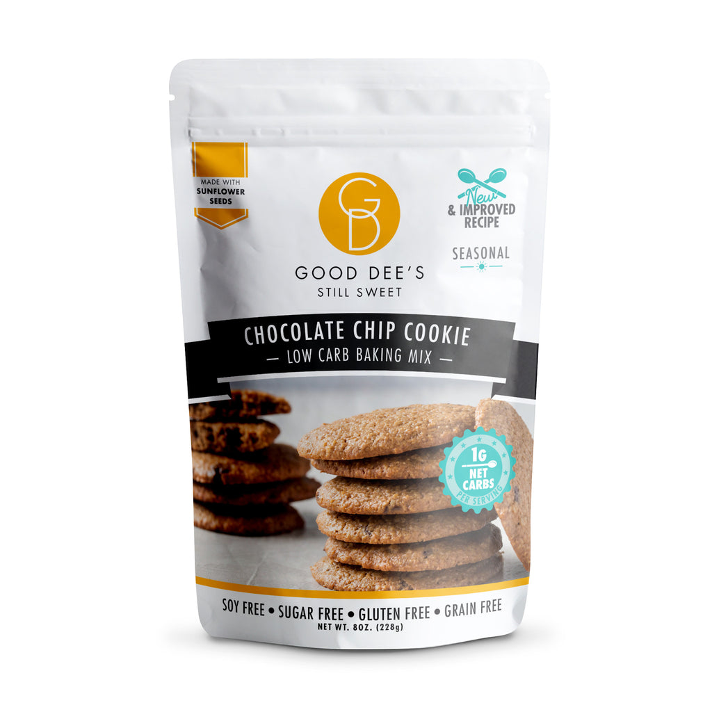 Good Dee's Keto Chocolate Chip Cookie Mix, 228g
