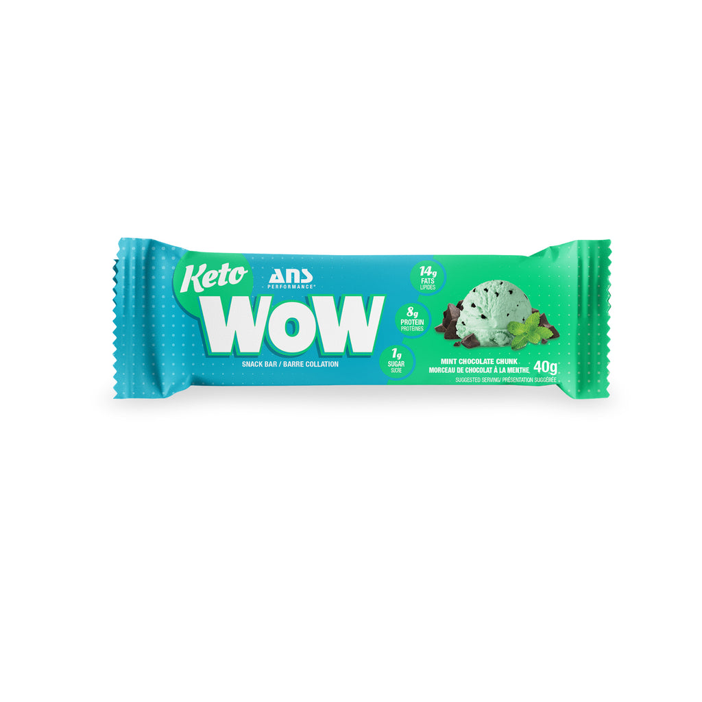 Keto Wow Snack Bar | Mint Chocolate (1 bar, 40G)