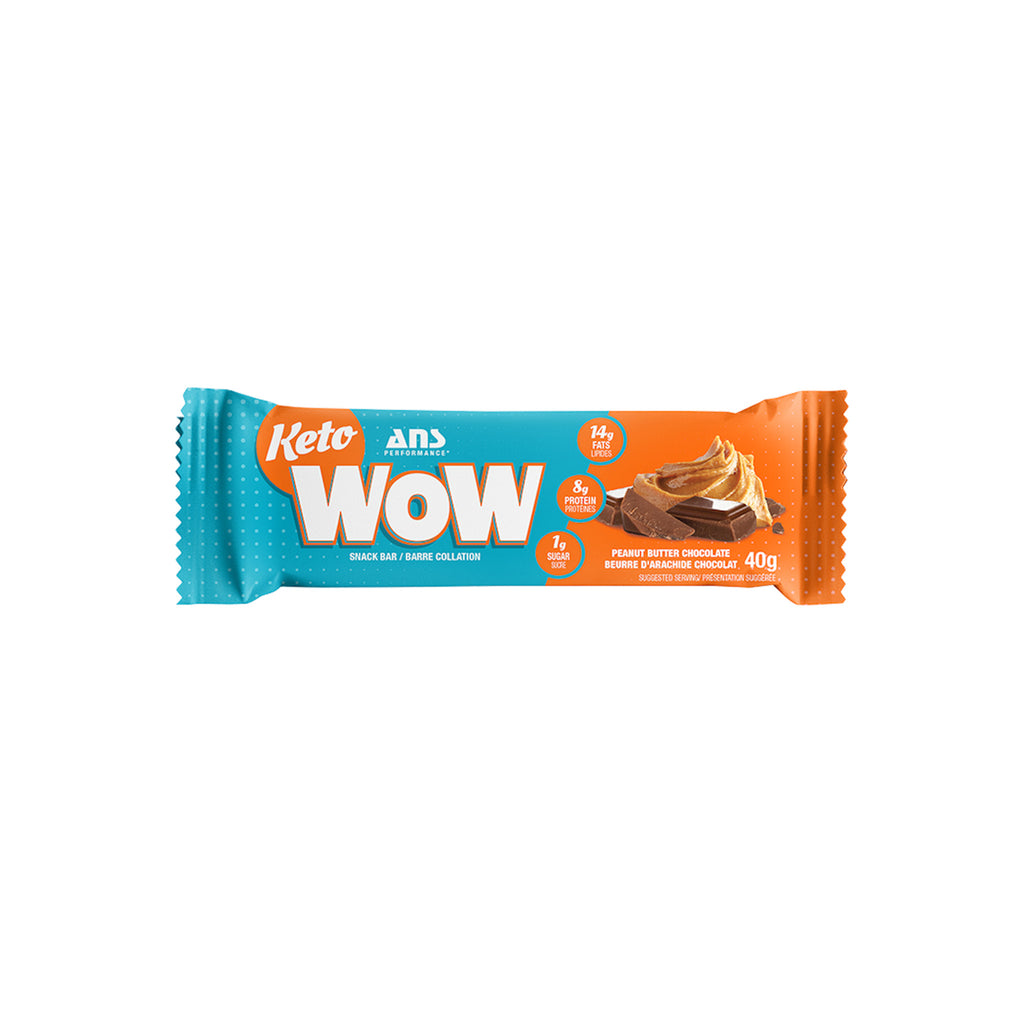 KetoWow Snack Bar | Peanut Butter (1 bar, 40G)