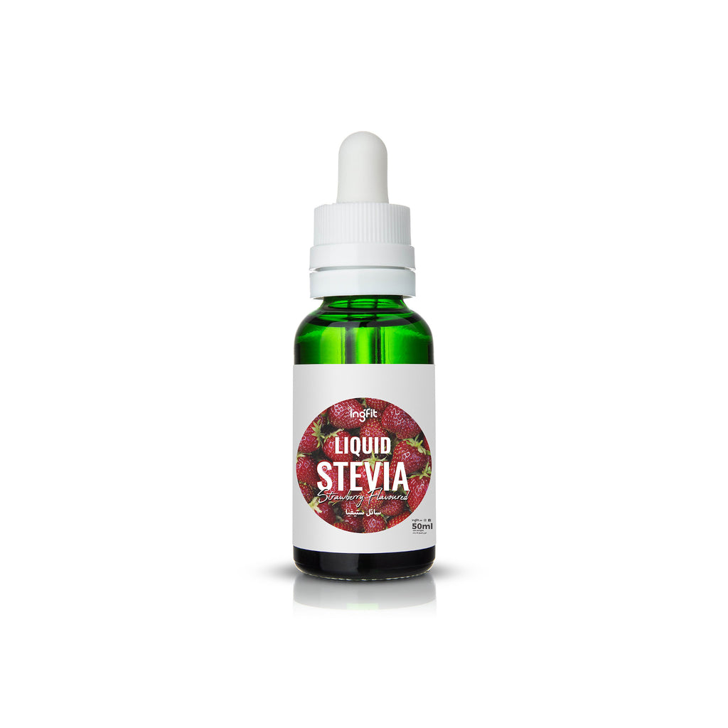 Strawberry Flavoured Liquid Stevia | Sugar Free Keto Sweetener