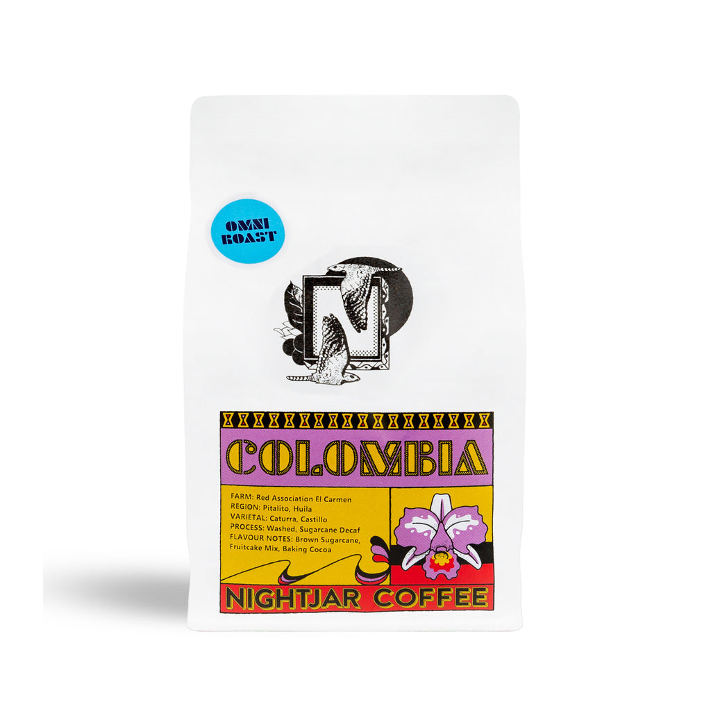 Speciality Single Origins | Colombia Washed Sugarcane EA DECAF