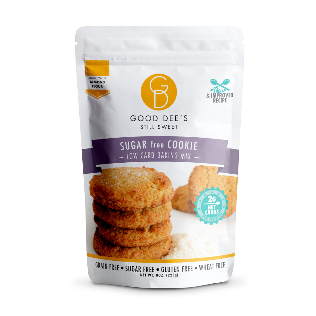 Good Dee's Keto Sugar Free Cookie Mix, 225g