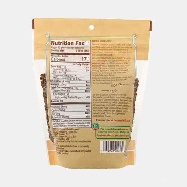 Bob's Red Mill Organic Brown Flaxseeds