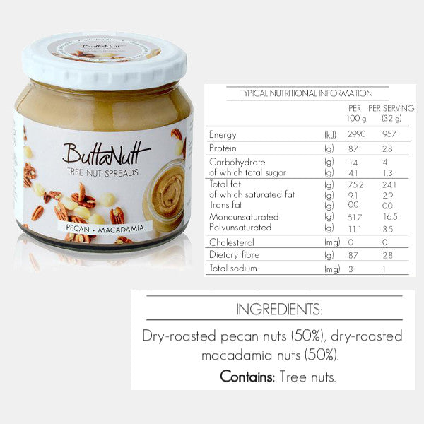 ButtaNut Spread - 250g Jars