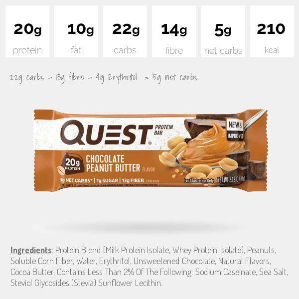 Quest Nutrition Protein Bars