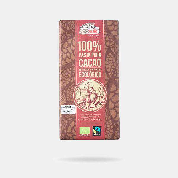 Chocolates Sole Organic 100% Cacao