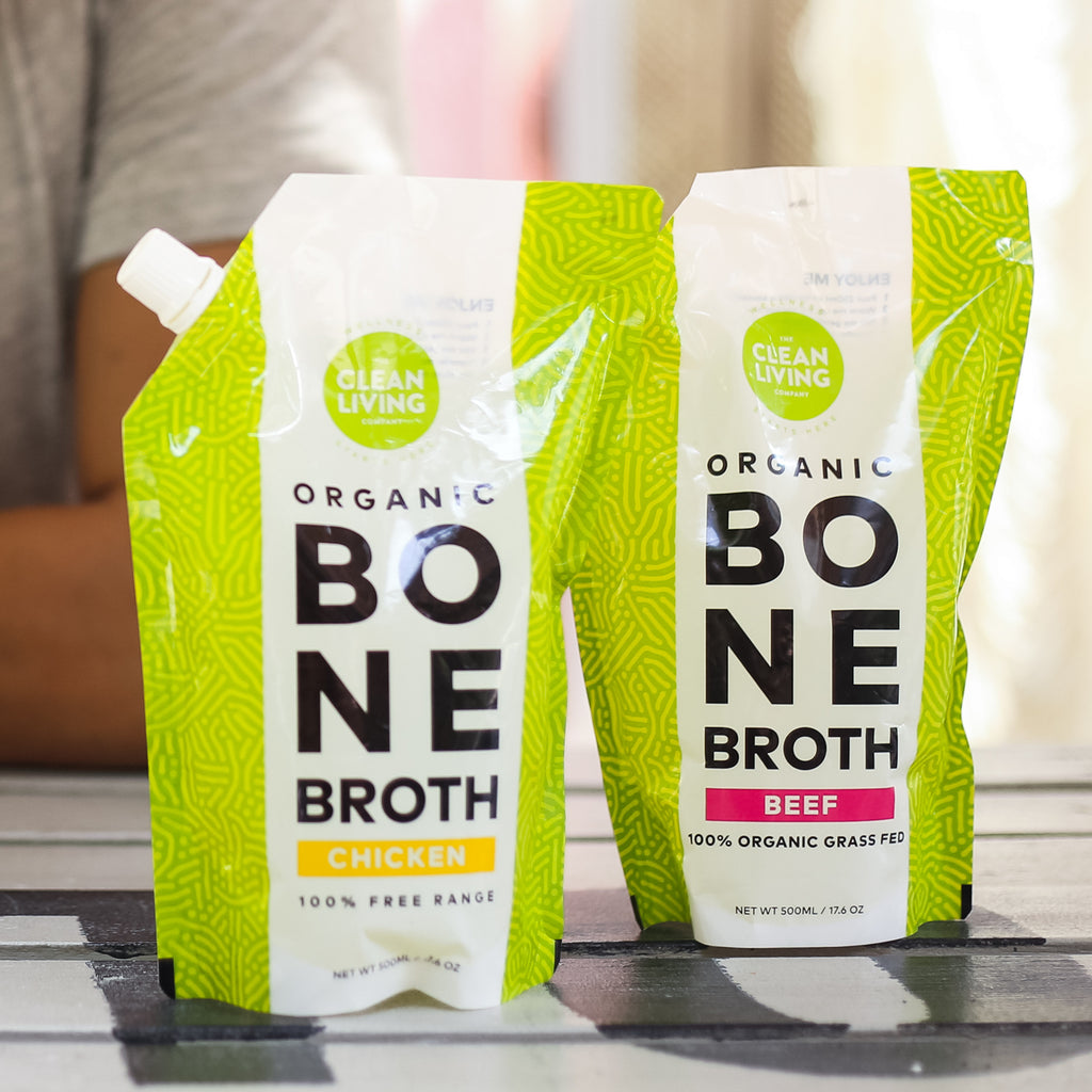 Clean Living Organic Bone Broth