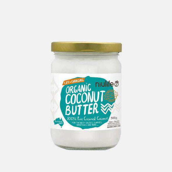 Niulife Coconut Butter - Certified Organic (500g)
