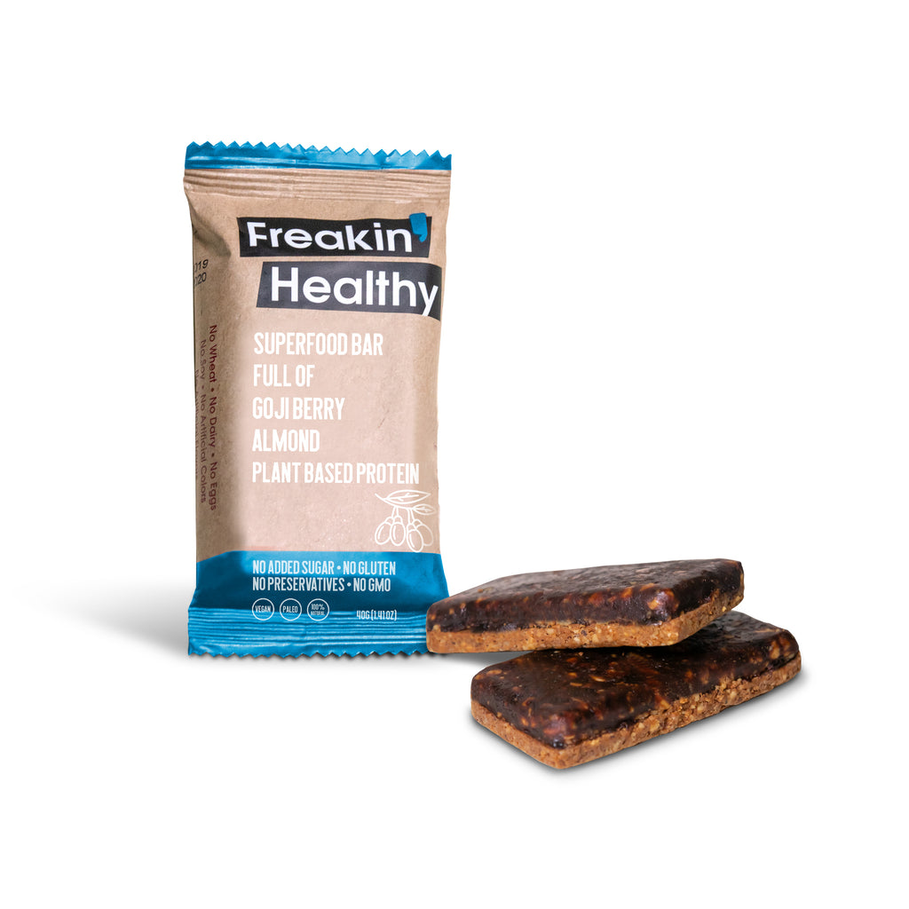 Freakin' Healthy Superfood Bars