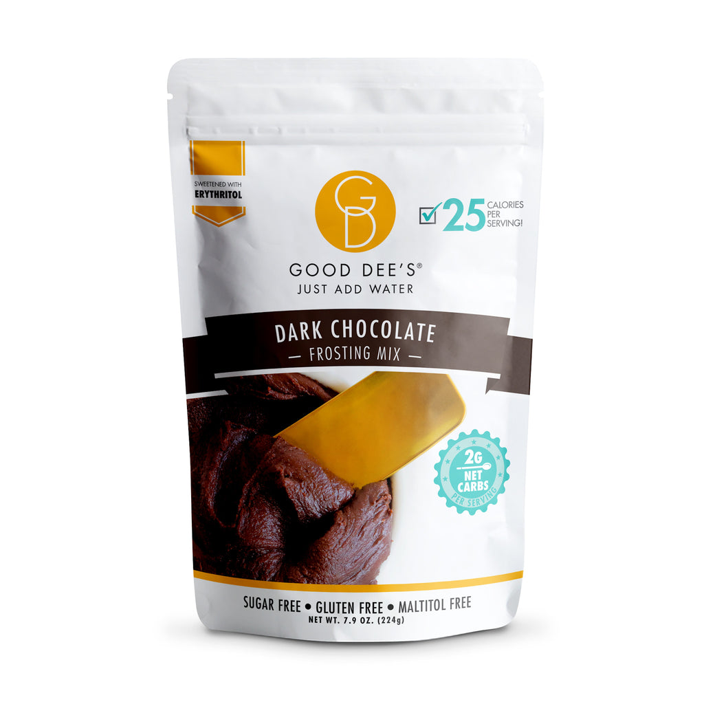 Good Dee's Keto Frosting Mix | Dark Chocolate, 224g