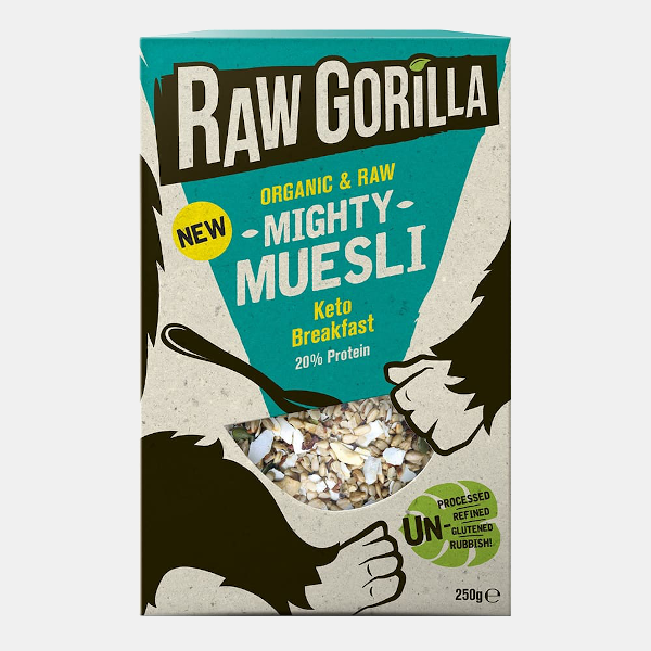Raw Gorilla Breakfast Cereals