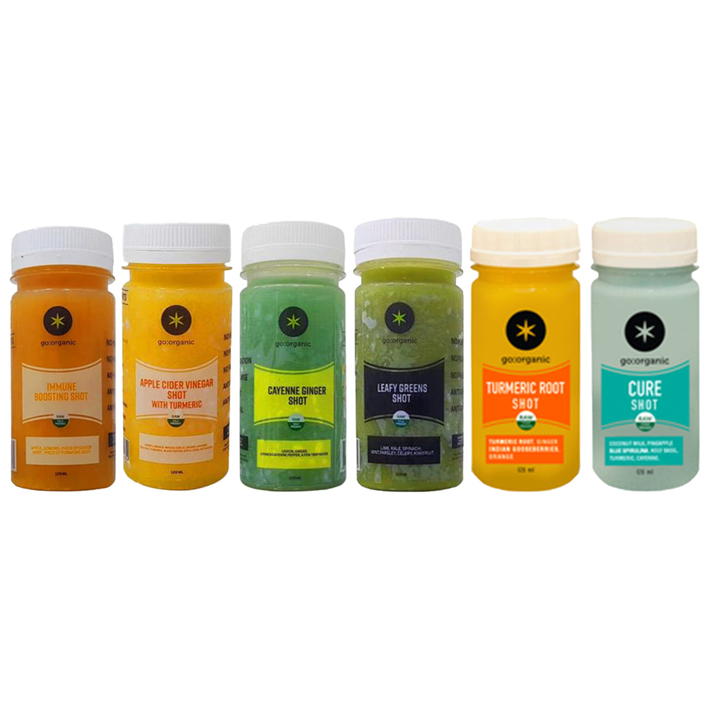 Go Organic | Assorted Juice Shots