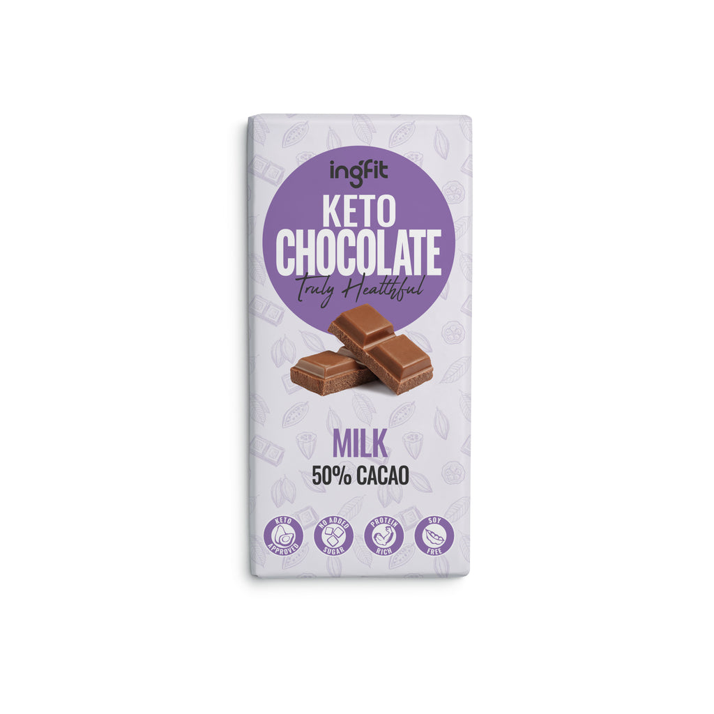 ingfit Keto Milk Chocolate, 100g