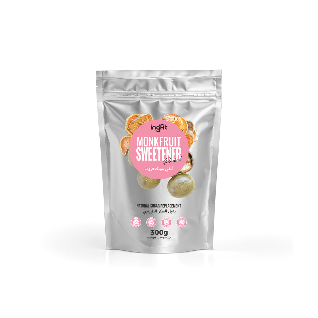 ingfit Monkfruit Blend Sweetener | Powdered