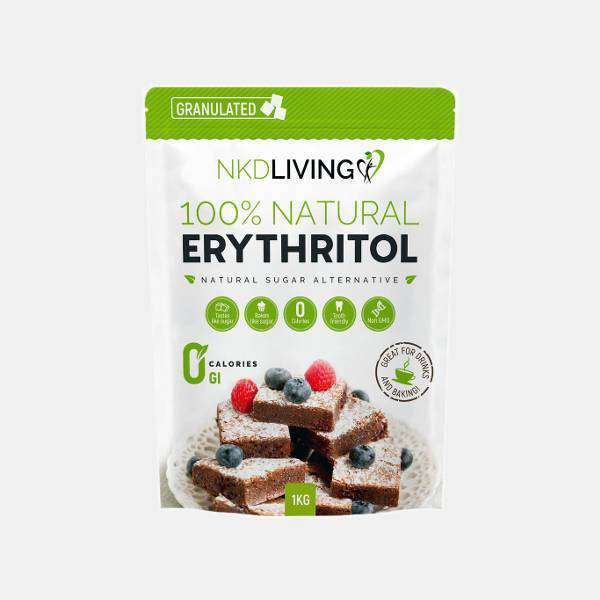 NKD Living 100% Natural Erythritol