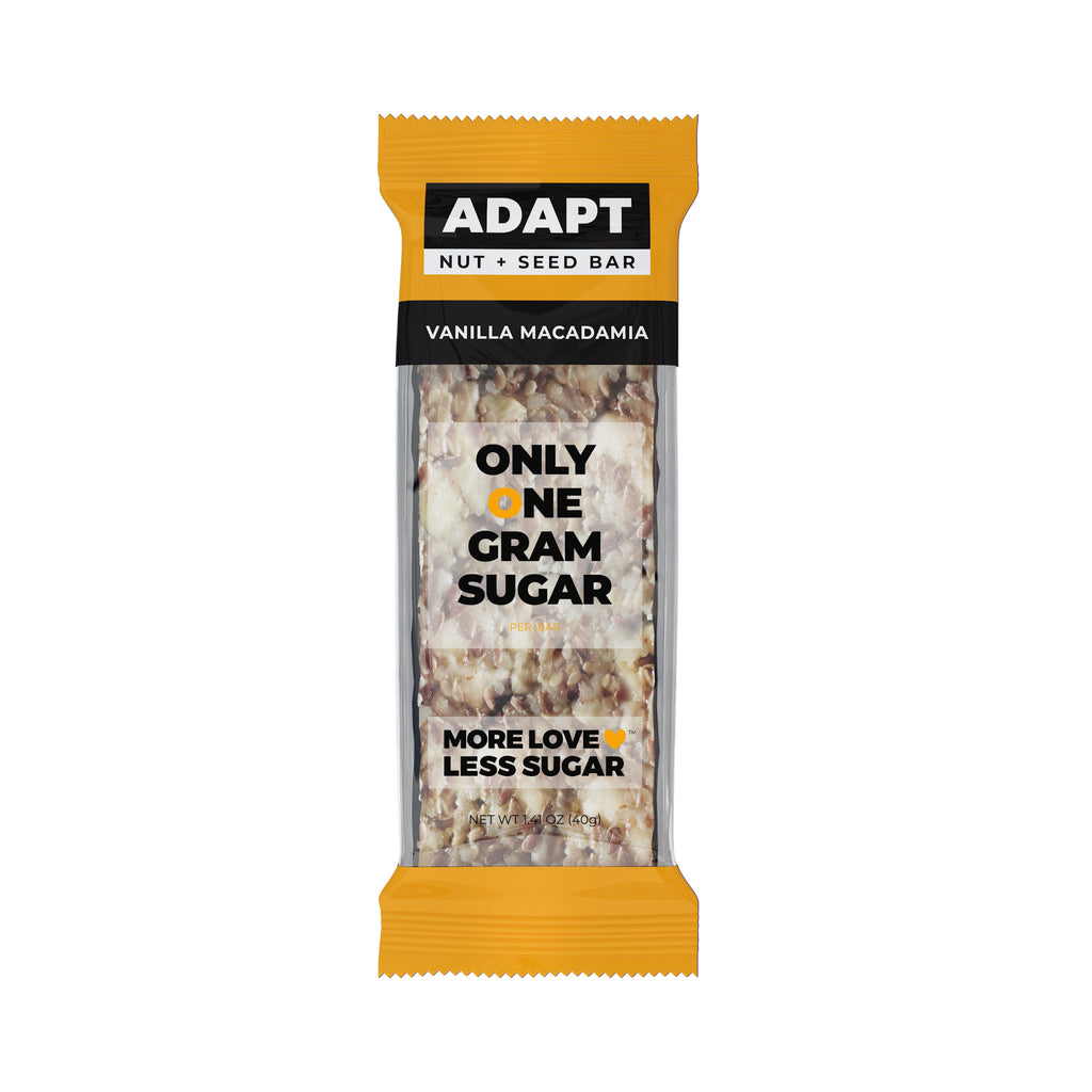 Low Carb, Low Sugar, Keto Nut & Seed Bars by Adapt