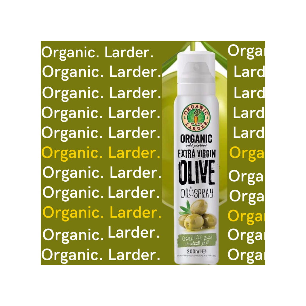 Organic Larder | Extra Virgin Olive Oil Spray