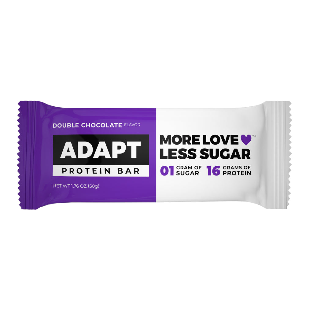 Low Carb, Low Sugar, Keto Protein Bars by Adapt