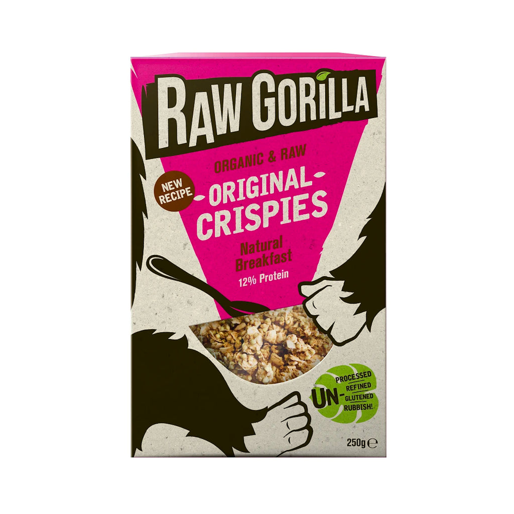 Raw Gorilla Paleo Breakfast Cereal | Original Crispies