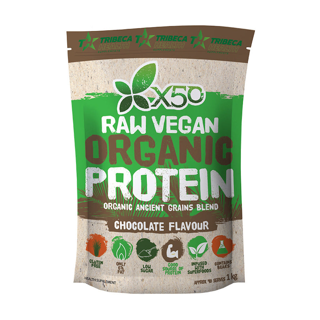 Raw Vegan Organic Protein Powder