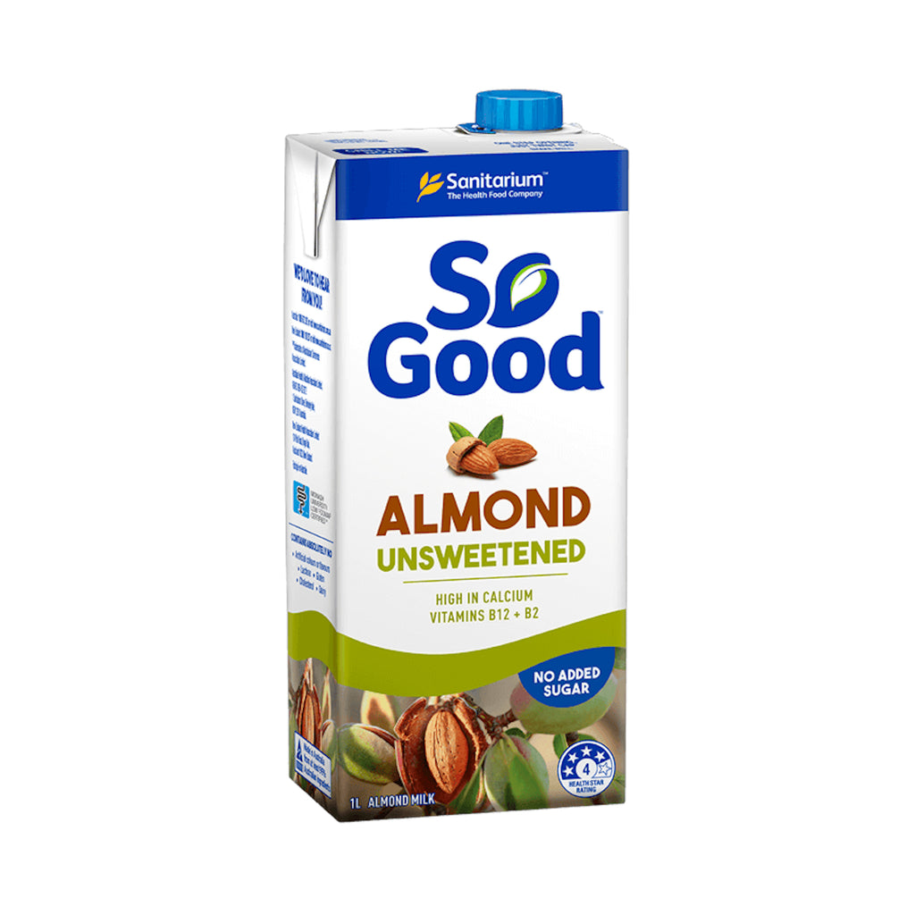 So Good Unsweetened Almond Milk