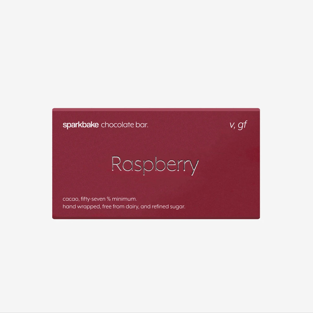 Dark Chocolate Bar | Raspberry Flavour