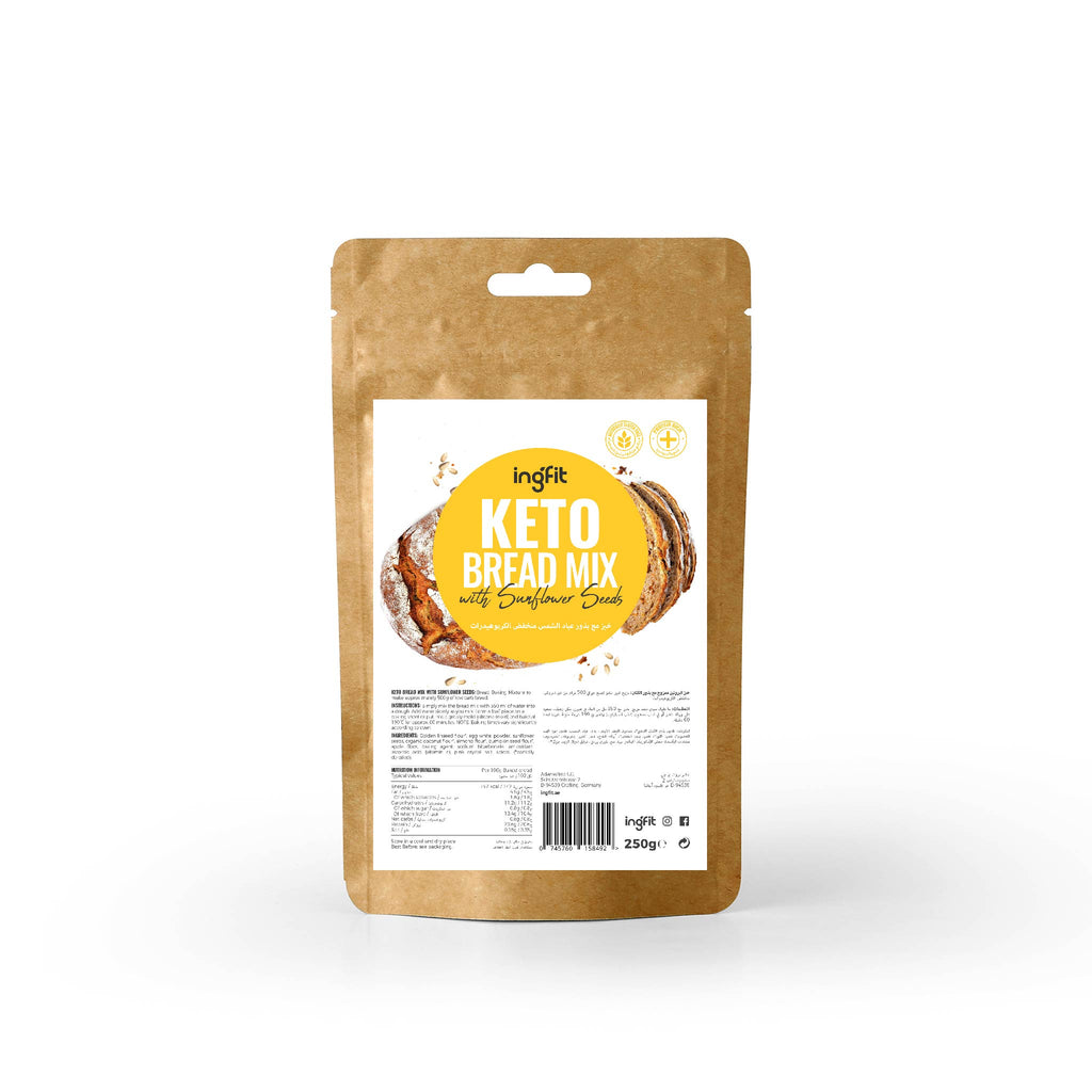 ingfit Keto Bread Mix | Sunflower Seeds