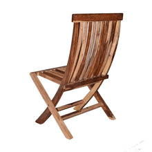 Load image into Gallery viewer, Driftingwood Sheesham Wood Natural Finish Folding Chair