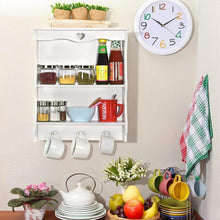 Load image into Gallery viewer, DriftingWood Wooden Bathroom Wall Shelf Mounted Rack Shelves for Kitchen, 2 Tier