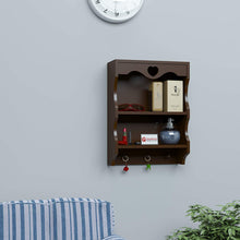 Load image into Gallery viewer, DriftingWoodWooden Bathroom Wall-shelf Mounted 2 Tier Wall-rack Shelves for Kitchen