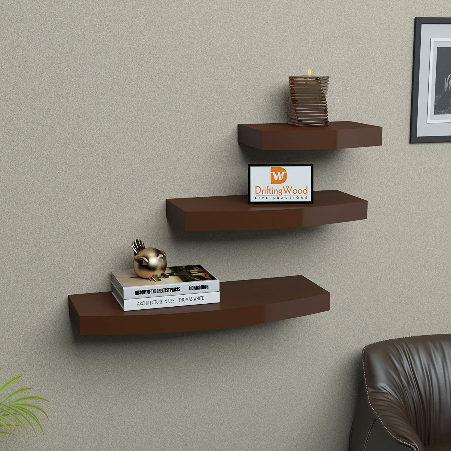 . Wooden Wall Shelves Living Room   home and kitchen design ideas