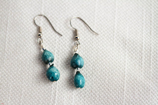 Turquoise Doublet Earrings