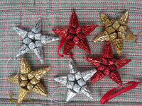 Recycled Paper Ornaments  SHINY
