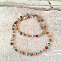 Signature necklace multicolor
