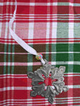 Recycled Metal Christmas Ornaments **Snowflake**