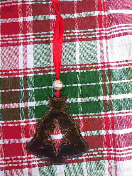 Recycled Metal Christmas Ornaments **Tree**
