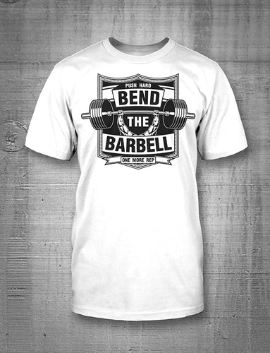 One More Rep Bend The Barbell Men's Tee