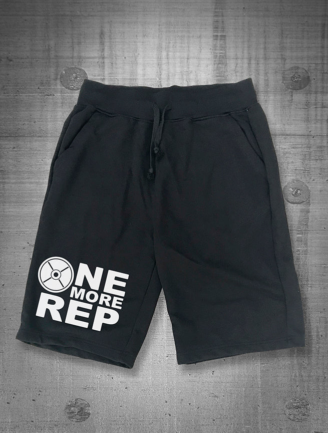 One More Rep Logo Men's Sweat Shorts