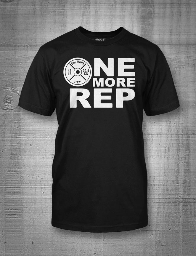 One More Rep Logo Men's T-Shirt