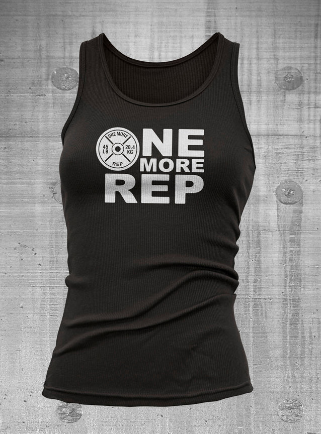 One More Rep Women's Ribbed Tank Top